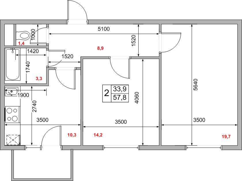 проект трехкомнатной квартиры в доме серии П-44Т - Форум о